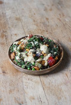 Quick, simple and delicious Roasted Vegetable Quinoa with a flavoursome tahini dressing. Gluten Free + Vegan