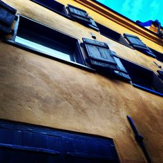 A lovely old building at Gamla Stan, in Stockholm