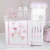 Found it at Wayfair - Floral Fun 6 Piece Crib Bedding Set