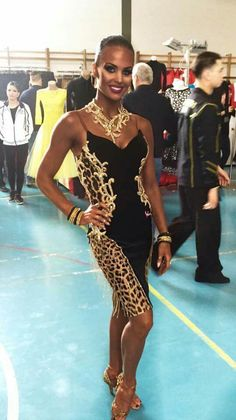 Black, gold & leopard