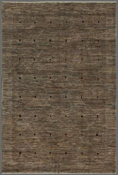 Gray 7' x 10' Gabbeh Rug Hand Knotted Oriental Rug