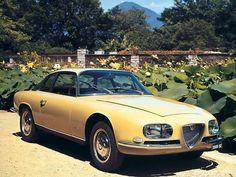 1965 Alfa Romeo 2600 SZ by Zagato