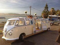 VW limo bus! #weddings  #VW #Volkswagen