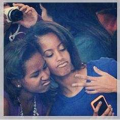 Love the fact that Sasha and Malia are so normal! For that, they are (Young) Women Who Inspire Us!