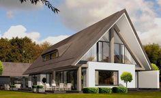 Woning ontwerp Bouwbedrijf Hubers in Lichtenvoorde. Mooie details van de woning. Modern met landelijk gecombineerd