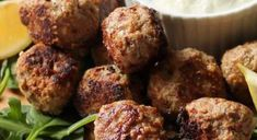 Greek Lamb Keto Meatballs