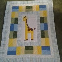 Young Texan Mama: William's Finished Berenstain Bears Quilt ... : giraffe baby quilt pattern - Adamdwight.com