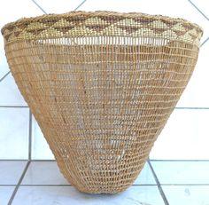 Klamath area Burden Basket, early 20th century ebay