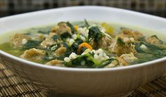 fabulous friday: Italian Wedding soup with barley