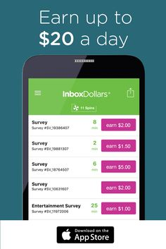 Earn cash for answering short survey questions right from your phone! Download the InboxDollars app for iOS free today and receive $5 bonus when you take your first 5 minute survey