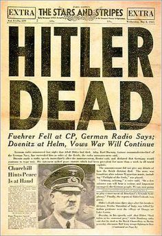 The end of Hitler and the Nazi Part 1945