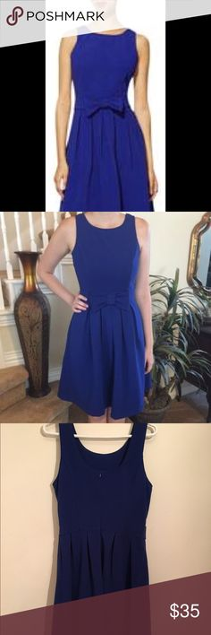 Textured baby doll dress Beautiful great fitting royal blue baby doll style dress Pim & larkin Dresses Midi