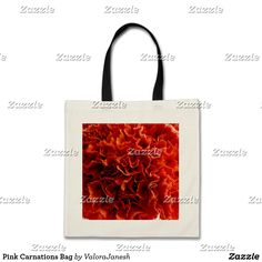 Pink Carnations Bag