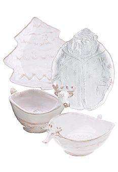 Vietri Bellezza Holiday Santa Platter | Holiday | Pinterest ...