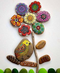 50 Beauty and Cute Rock Painting Ideas -