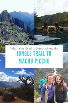 Taking the Jungle Trail to Machu Picchu? Find out what you need to know, plan, and different options for this awesome trek to Machu Picchu!