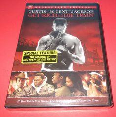 "Get Rich or Die Tryin'  DVD, 2006 BRAND NEW!  ""50 Cent"",  Viola Davis FREE S/H #getrichordietryin #Curits50CentJackson #50cent #violadavis #terrencehoward #Serenareeder #joybryant #action #drama #Movies http://stores.ebay.com/vinylrockretro"
