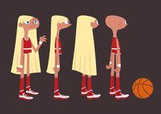 fredi fredo: La basketteuse