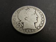 1914S Barber Half Dollar in current auction