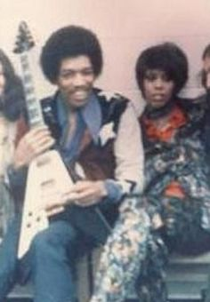 Devon Wilson and Jimi Hendrix
