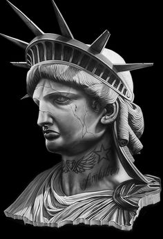 Tattoo Design Drawings, Tattoo Sketches, Tattoo Designs, Pieta Statue, Gangster Tattoos, Gangster Style, Traditional Tattoo Design, Aztec Warrior, Adam And Eve