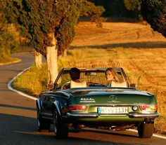 "Classic Car Travel on Instagram: ""Enjoy your weekend!  #weekend #enjoy #enjoylife #drivingexperience #discovery #lifestyle #luxurytravel #luxury #sunset #sl #roadster…"""