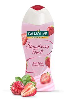 Body Butter Shower Cream || Gourmet- Strawberry Touch (Strawberry)