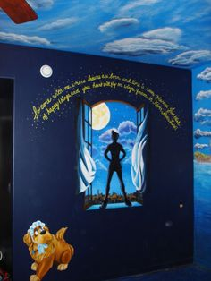 I dont care if my kids like it or not, one of them WILL have a Peter Pan Bedroom!!!!!!!