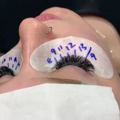 """Eyelash Extensions Sydney on Instagram: """"We customise our lash sets to suit each client, mapping out measurements of extension lengths on the Eyepads ensures consistency on both…"""" Eyelash Extensions Salons, Eyelash Salon, Natural Cosmetics, Makeup Cosmetics, Dark Makeup, Eye Makeup, Makeup At Home, Cosmetic Items, For Lash"""