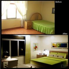 Just a few decor details and, a big change. If you say: I love it!  And ask yourself: How would my room look? If someone could shows it to me and helps me... Let's do it together, we can achieve it! With a few tips of what you wish, I can show you what you expect... And with a few basic tips, you'll get the cherished space...And at the minimum cost. Contact me by email at fmcbdesigns@hotmail.com