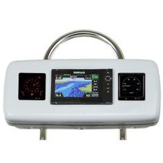 "NavPod GP2070-13 SystemPod Pre-Cut f/Simrad NSS9 evo2 or B&G Zeus² 9 & 2 Instruments f/12"" Wide Guard"