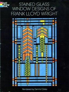 frank lloyd wright stained glass window panels - Google Search