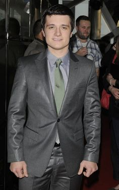 Josh Hutcherson at the Canadian Premiere of The Hunger Games at Scotiabank Theatre today.