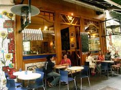 Cafe Segovia... A sanctuary in the heart of Melbourne. Perfect for people-watching.