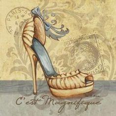 Vintage shoes by Eva