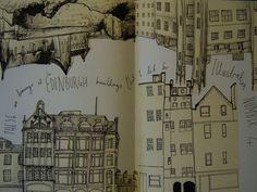 sketchbook city. inspiration.