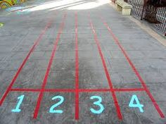 juegos en el suelo del patio - Buscar con Google
