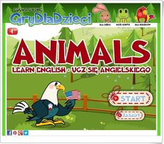 Animals (Grydladzieci.edu.pl) English Play, Science And Nature, Esl, Comic Books, Comics, Natural, Animals, Teaching Resources, Kids