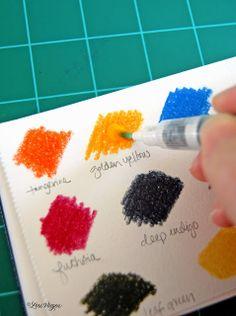 elvie studio: inspiration monday: to-go watercolors