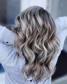 Ash Blonde Hair Balayage, Ombre Blond, Ash Blonde Balayage, Bayalage, Hair Color And Cut, Cool Hair Color, Brown Hair Colors, Ash Blonde Hair With Highlights, Highlight And Lowlights