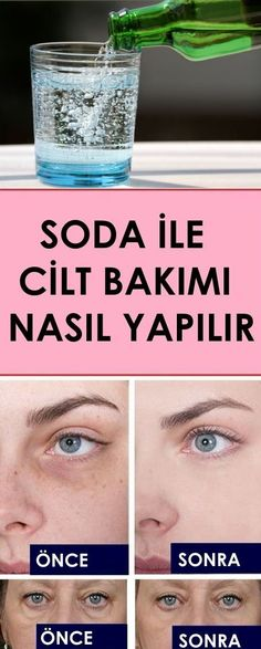 Skin care with soda - sağlık - care # Sağlık - Hautpflege - Belleza Beauty Care, Beauty Skin, Hair Beauty, Homemade Skin Care, Homemade Beauty, Perfume Versace Bright Crystal, Face Care, Body Care, Healthy Skin Care