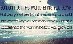 let it bring you down lyrics: