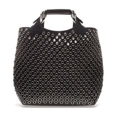Image 1 of CUT WORK TOTE BAG from Zara