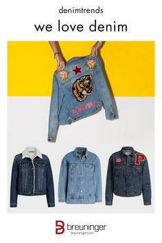 Jeansjacke patches trend