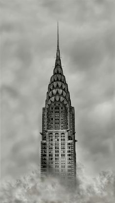 The top of the Chrysler Building in New York City is the perfect example of Movement in Design in the way that it seems to disappear into the sky