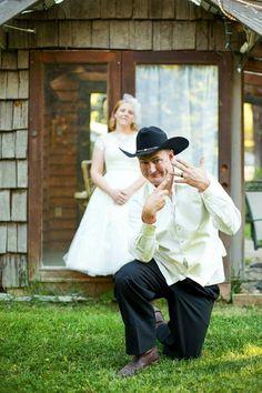 Shady Slope Wedding Behind the Love Shack