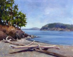 North beach. Deception pass. Oil. Deception Pass, North Beach, Pastel, Paintings, Oil, Watercolor, Outdoor, Pen And Wash, Outdoors