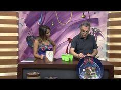 Vida com Arte | Pintura em madeira - Renda richelieu por Luiz Poletti - 27 de Julho de 2015 - YouTube