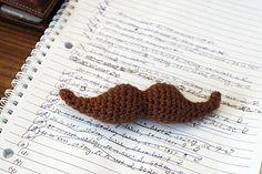 Crochet Mustache Pattern