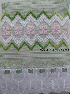 Vilma Herrera R. Hardanger Embroidery, Embroidery Stitches, Embroidery Patterns, Hand Embroidery, Bargello Needlepoint, Needlepoint Stitches, Doily Patterns, Cross Stitch Patterns, Dress Patterns